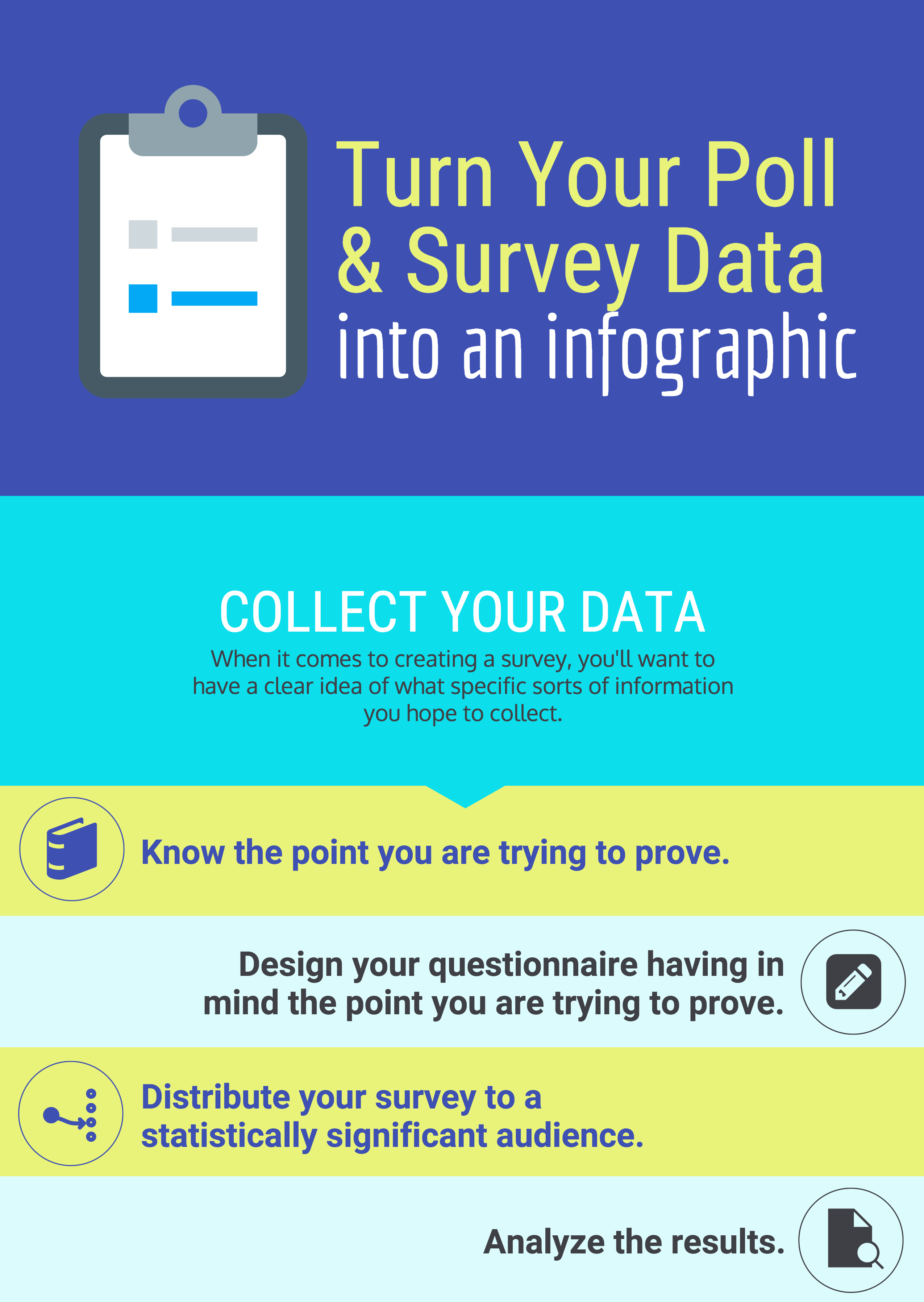 Informational poster template