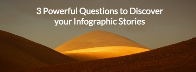 3 Powerful Questions to Discover Infographic Stories