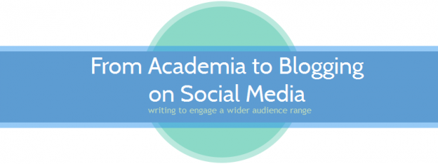 Academia to Blogging HEADER