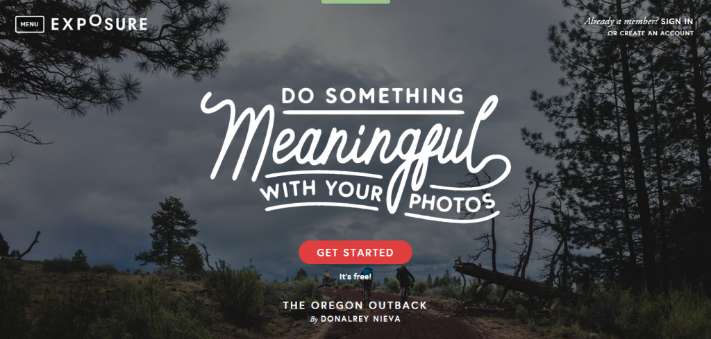 Exposure Photoblogging tool for students