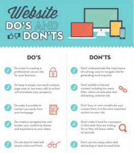 Website Do's and Don't