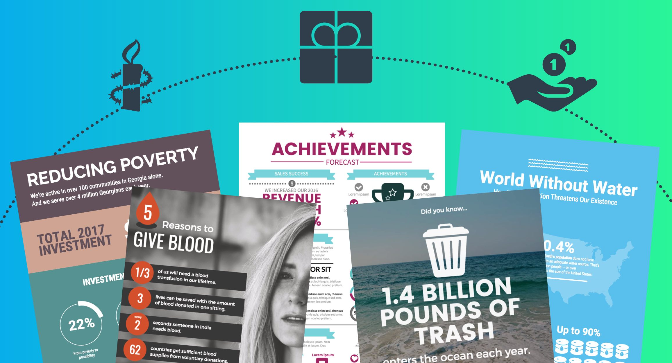 5 must have nonprofit infographic templates to supercharge your