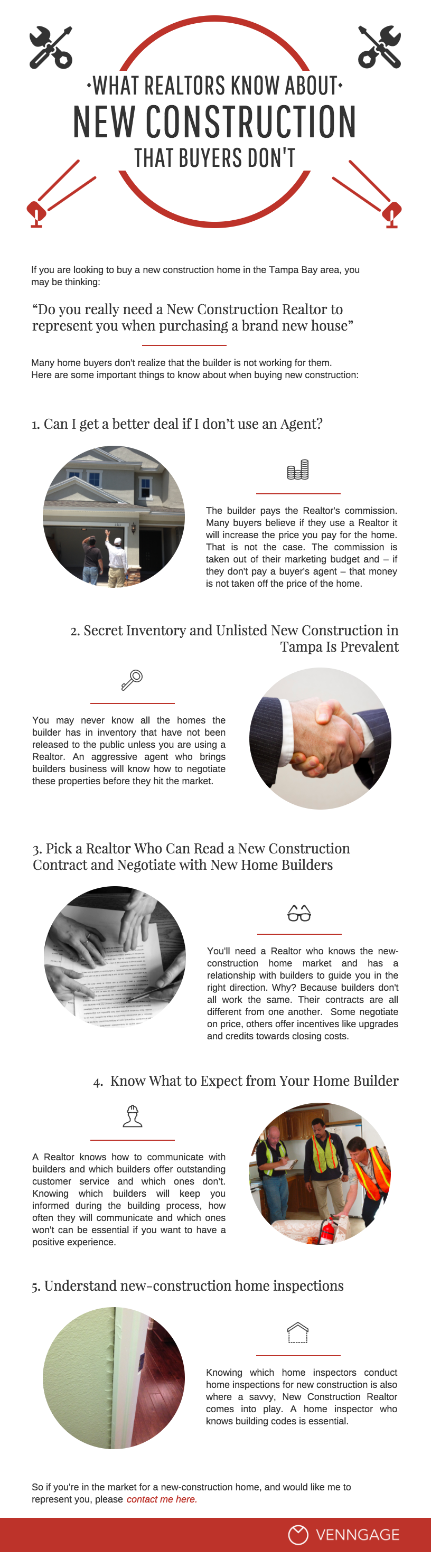 New Construction Real Estate Infographic Template Venngage