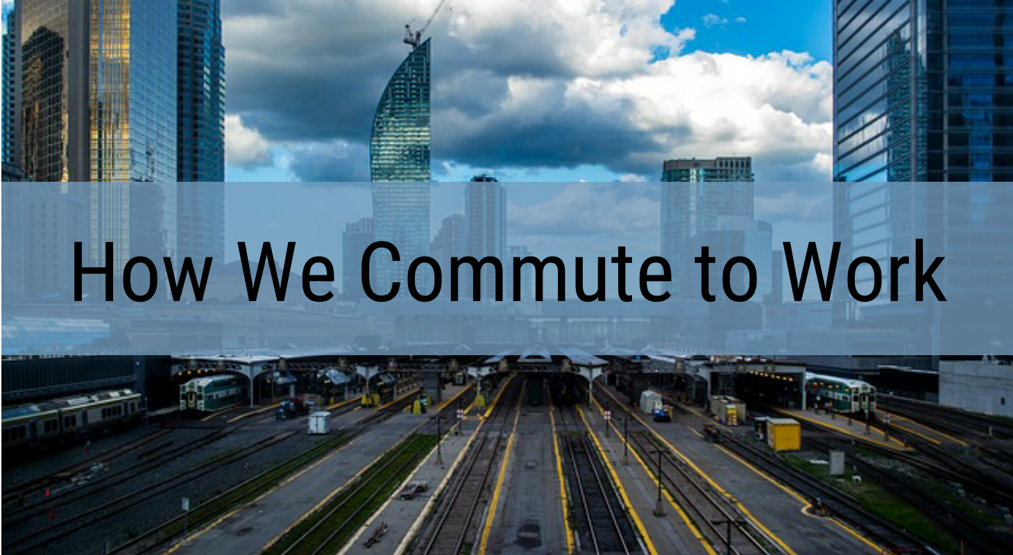 How We Commute To Work Infographic Venngage