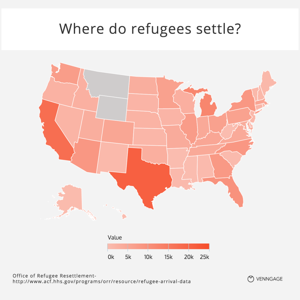[Map] Where do Refugees Settle?