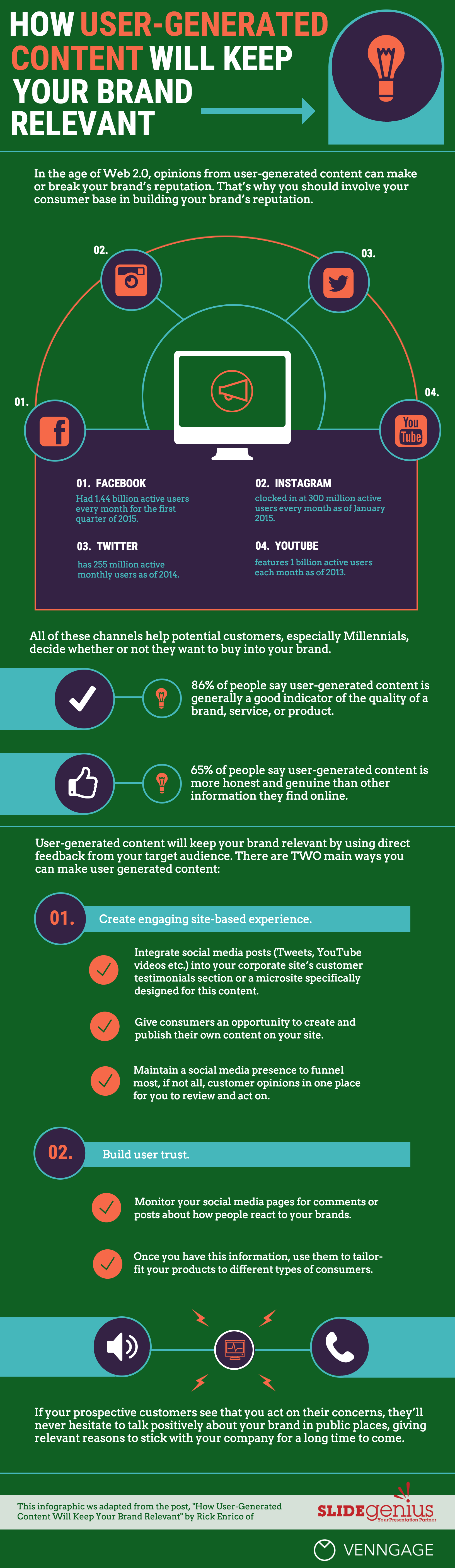 Infographic: User Generated Content | Venngage