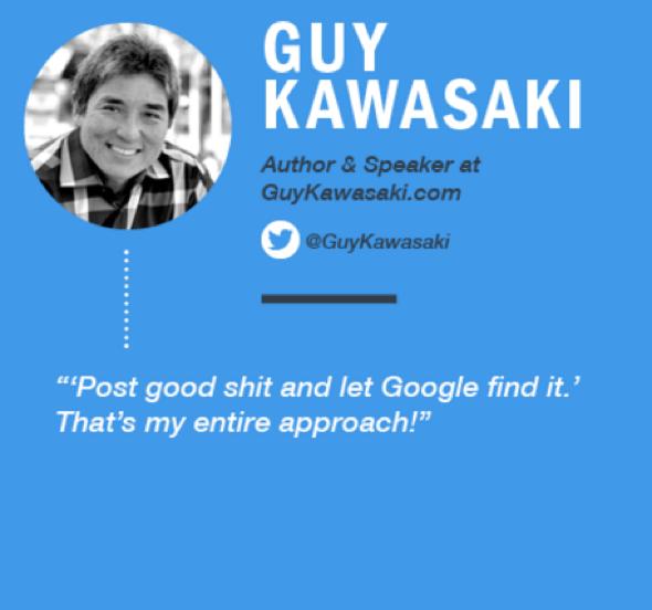 Infographic: Guy Kawasaki | Venngage