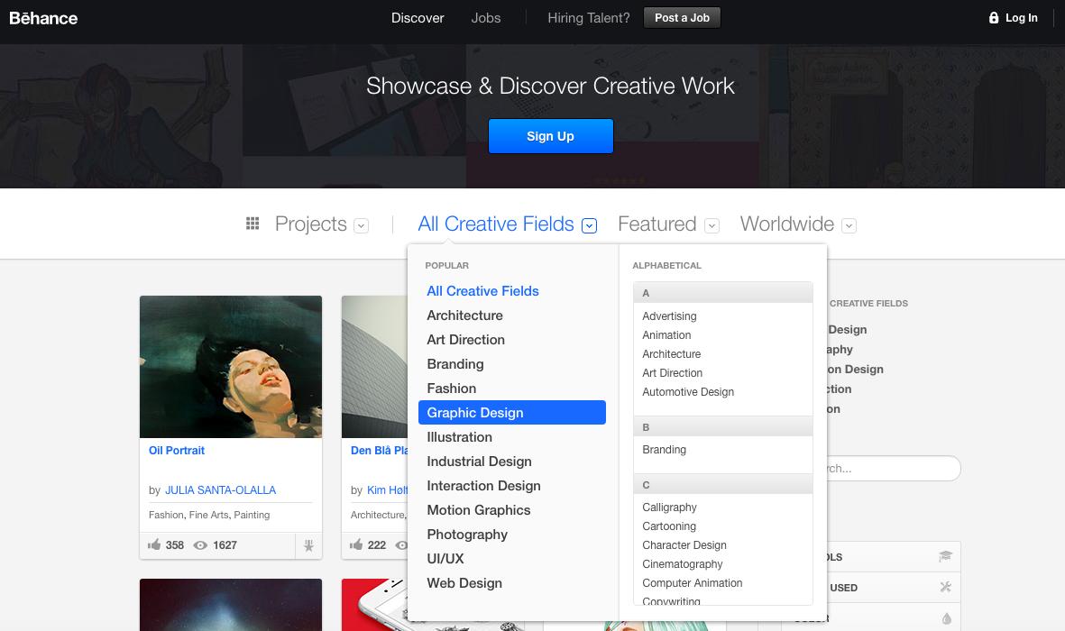behance graphic design