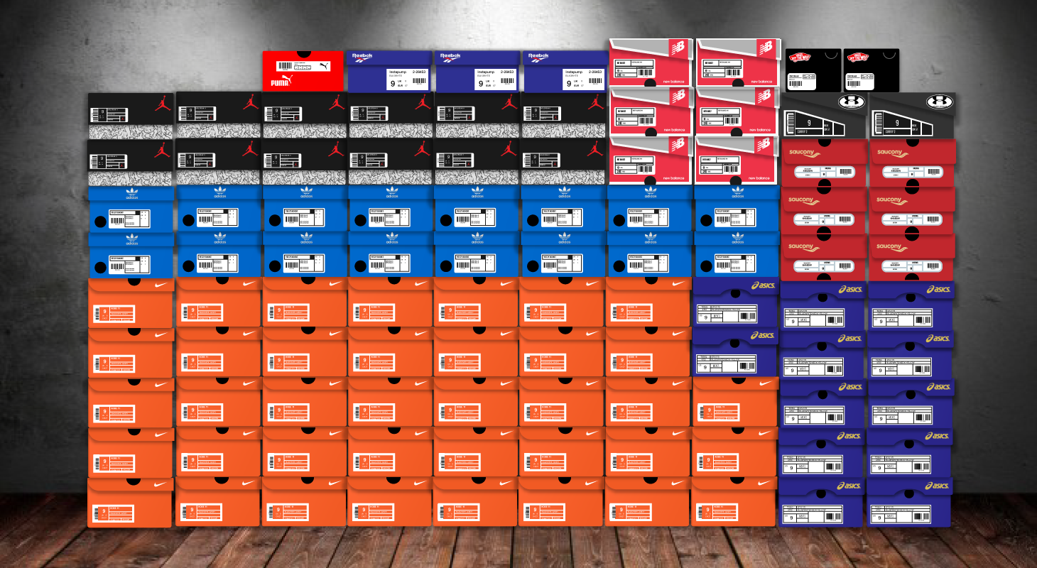 Brands Sneakerheads Love Infographic