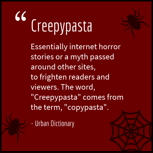 creepypasta definition