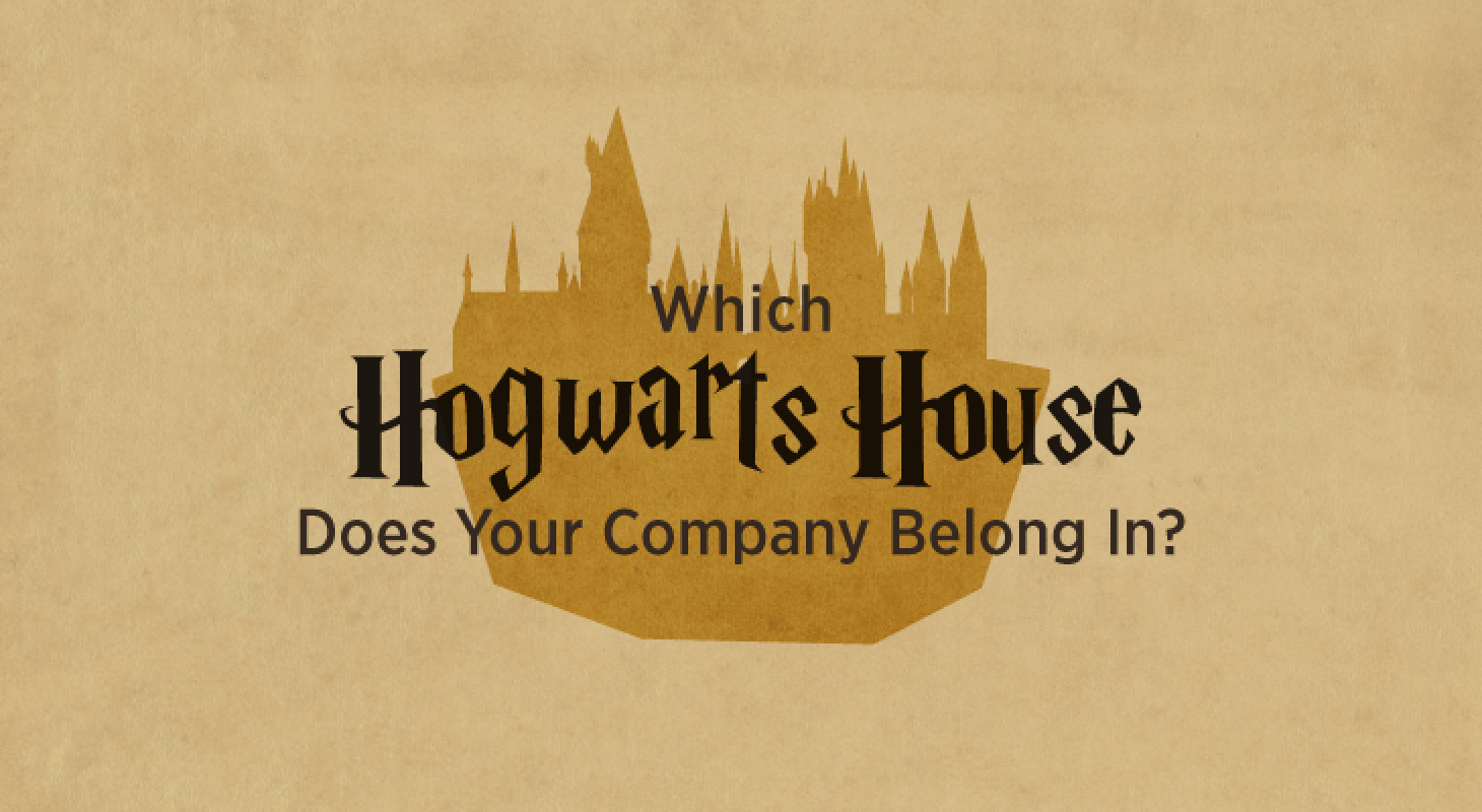 Infographics: Hogwarts House Company Culture