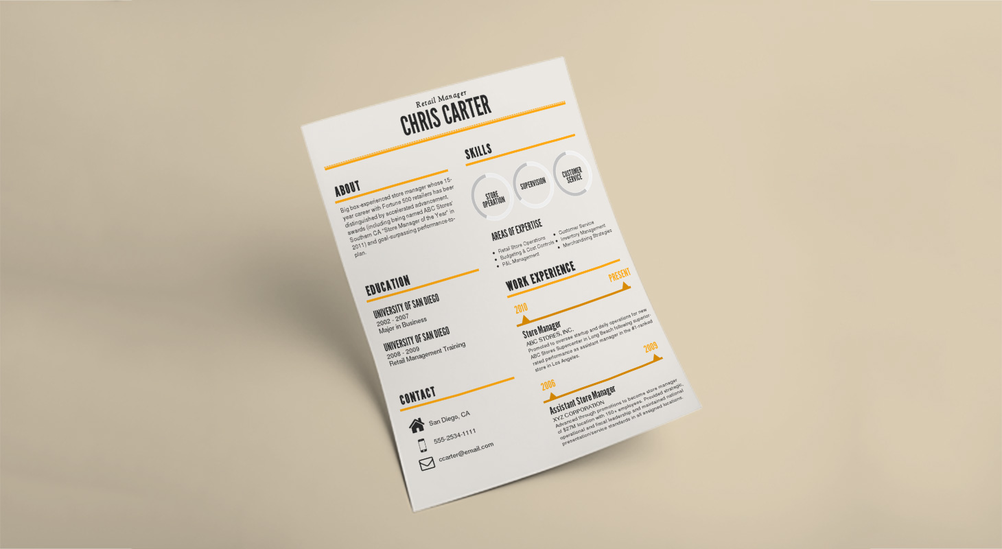 How To Make An Infographic Resume Updated