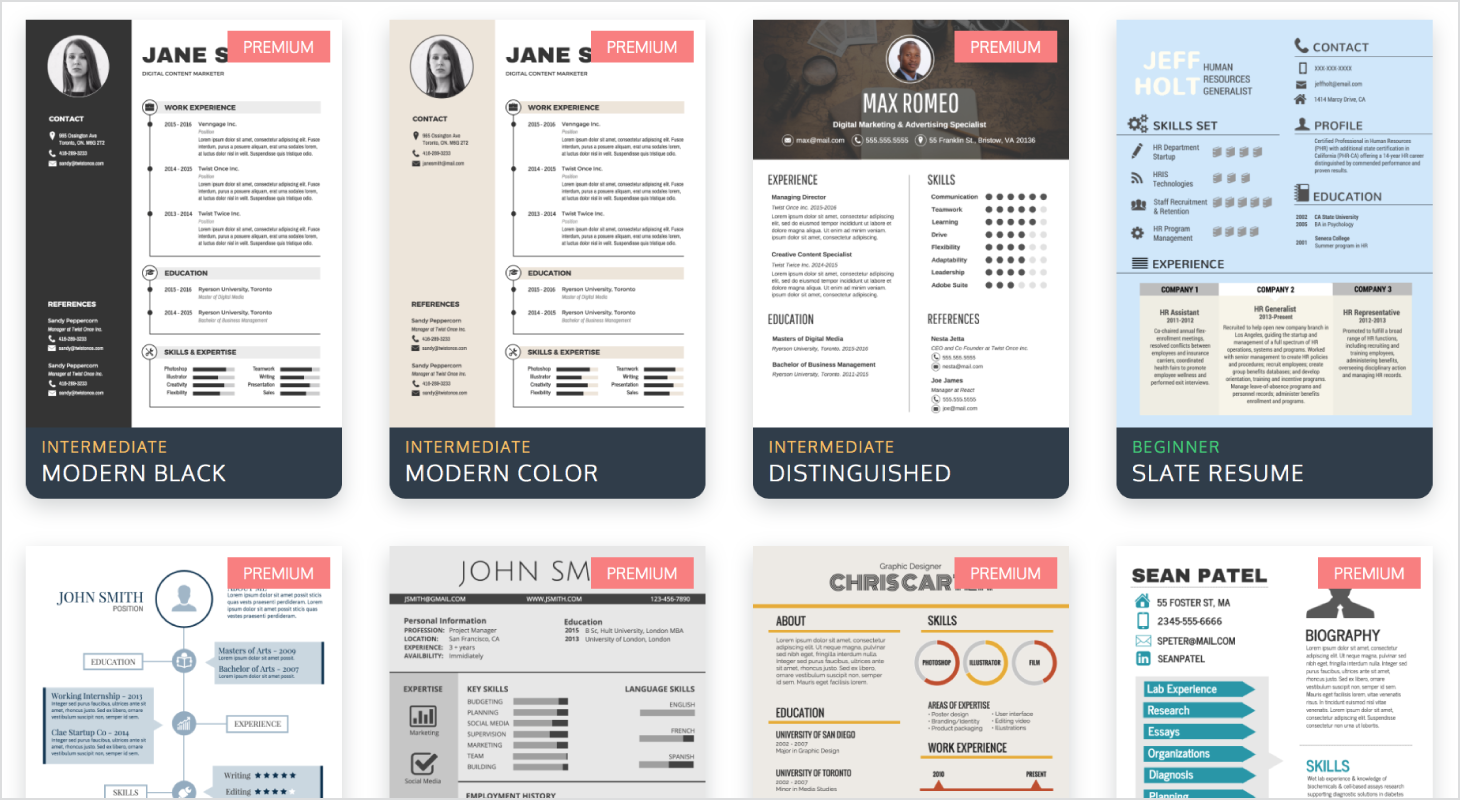 How To Create And Share An Infographic Resume