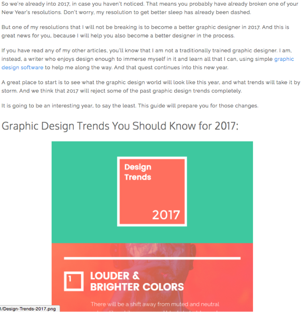 Infographics: Text Image
