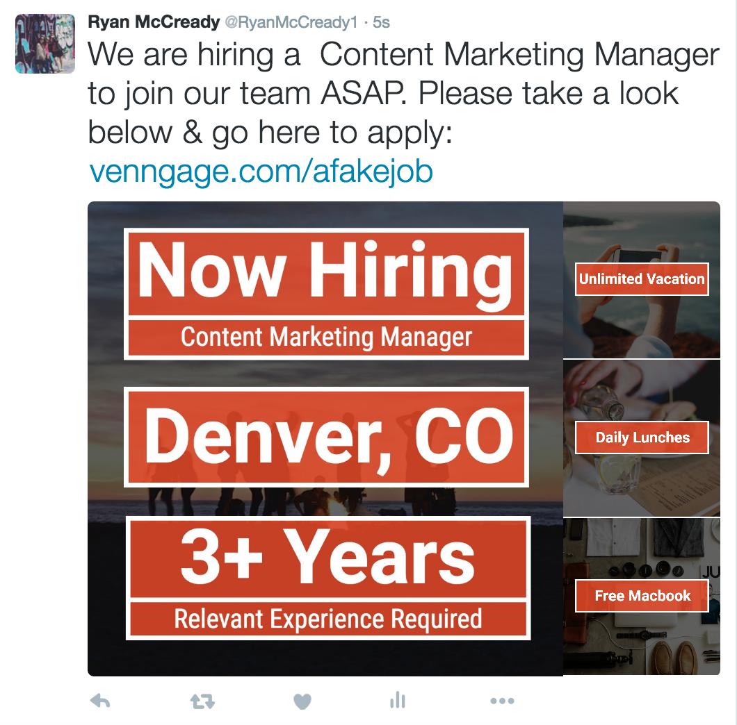 Infographics: Twitter Job