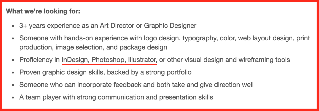 12 Graphic Design Skills You Need To Be Hired Infographic Venngage