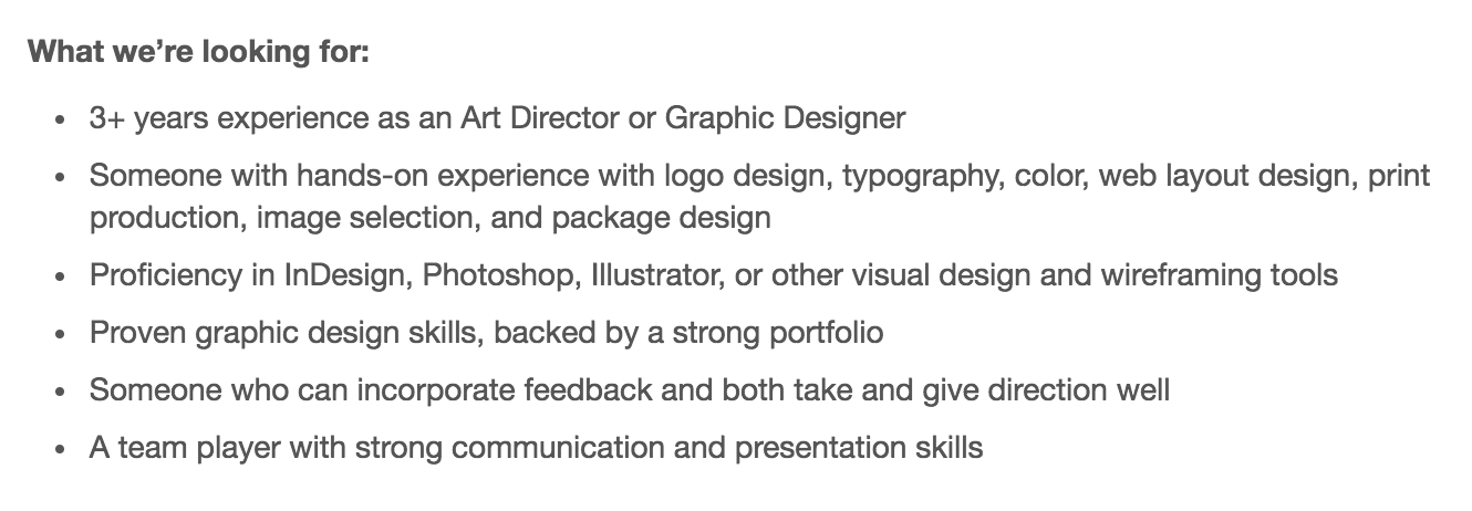 12 Graphic Design Skills You Need To Be Hired  Graphic Design Skills Resume