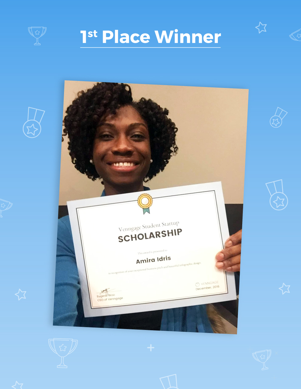 Infographics: Scholarship Winners