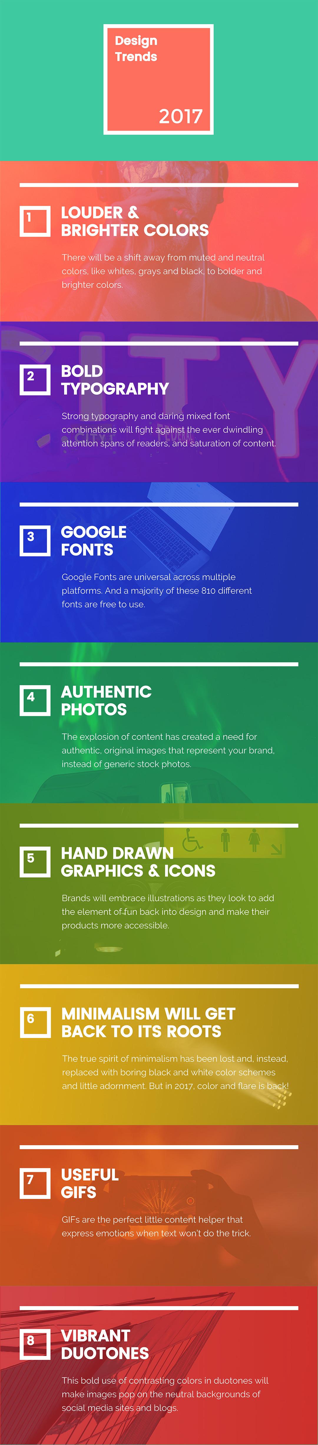 8 Nuevas Tendencias de Diseño Gráfico que tomarán el control en el ...