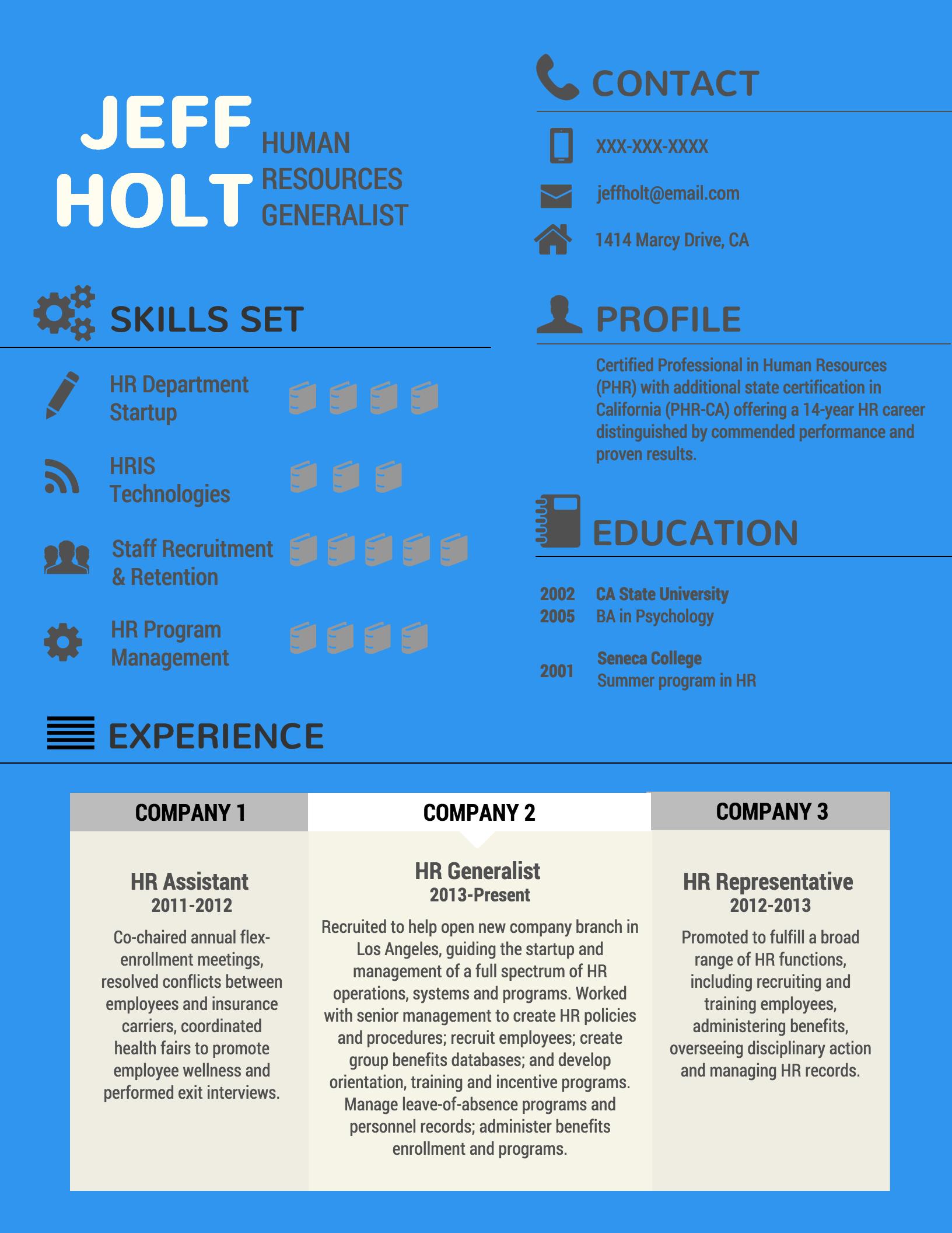 Plantillas Para Curriculum Infografia Venngage