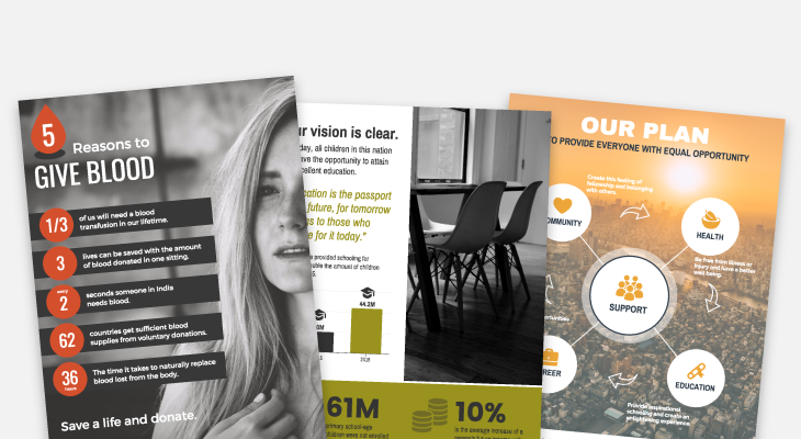 Infographic Templates to Boost Your Nonprofit