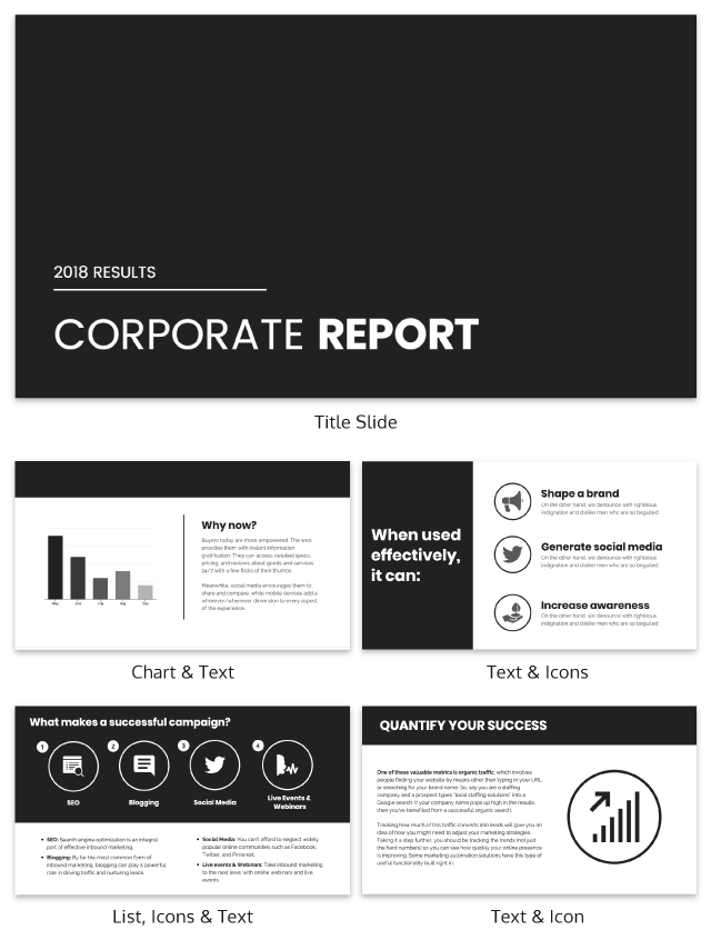 7 presentation templates better than an average powerpoint theme, Powerpoint templates