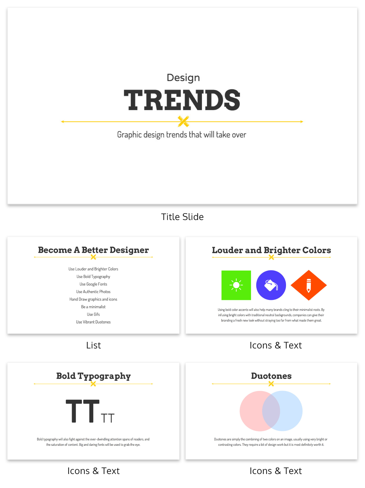 7 presentation templates better than an average powerpoint theme, Presentation templates