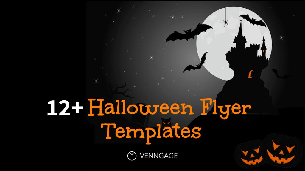 Halloween Flyer Templates Blog Header and Logo (1)
