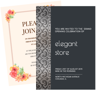 Online invitation maker design your own invitation with venngage create a buzz worthy invitation stopboris
