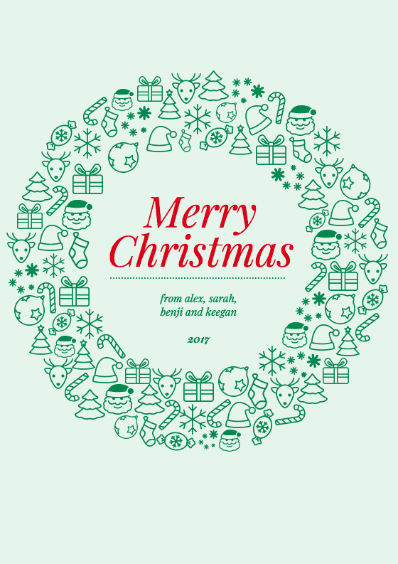 100+ Free Christmas Card Design Tips, Fonts U0026 Templates