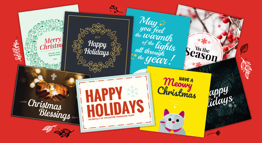 free holiday card templates.html