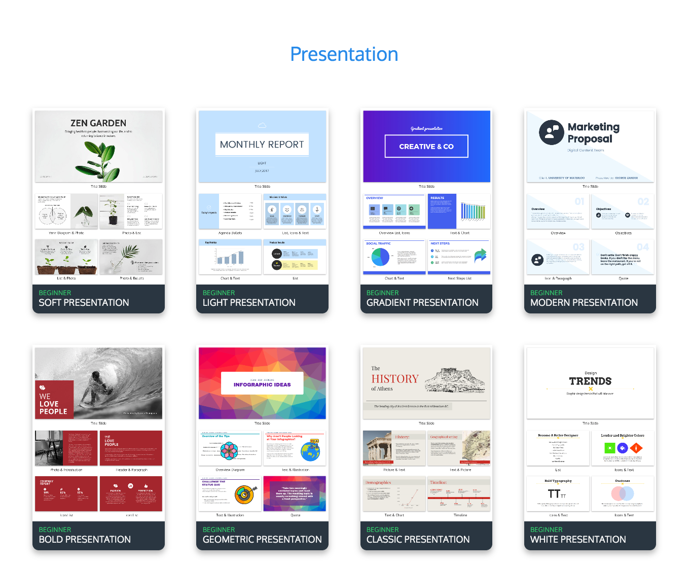 online presentation maker create your own presentation venngage