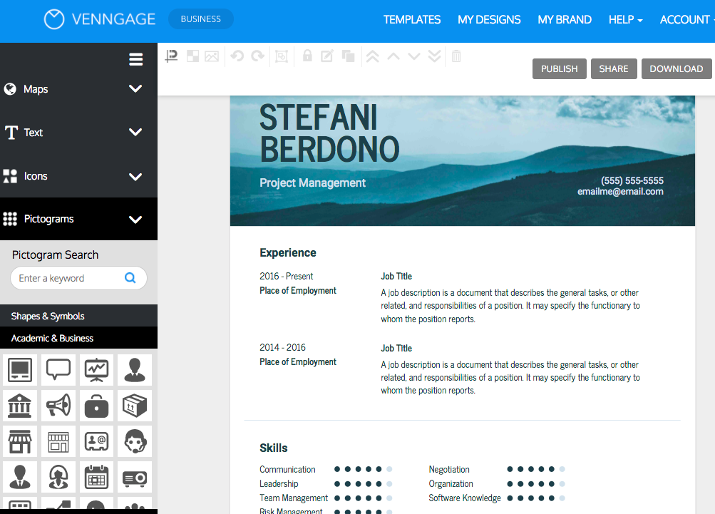 How To Create A Visually Appealing Resume