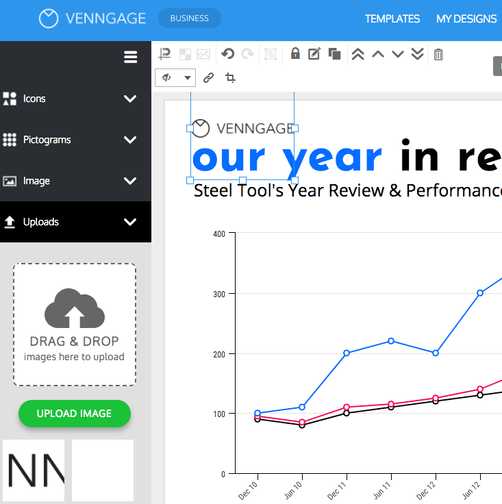 Design Engaging Reports With Venngage's Report Maker