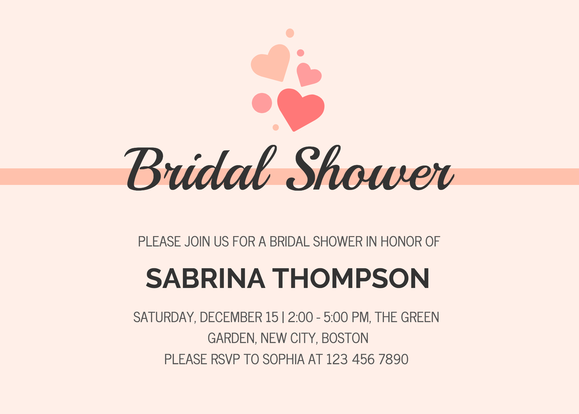 Wedding Divas Invitations Template: 19 DIY Bridal Shower And Wedding Invitation Templates