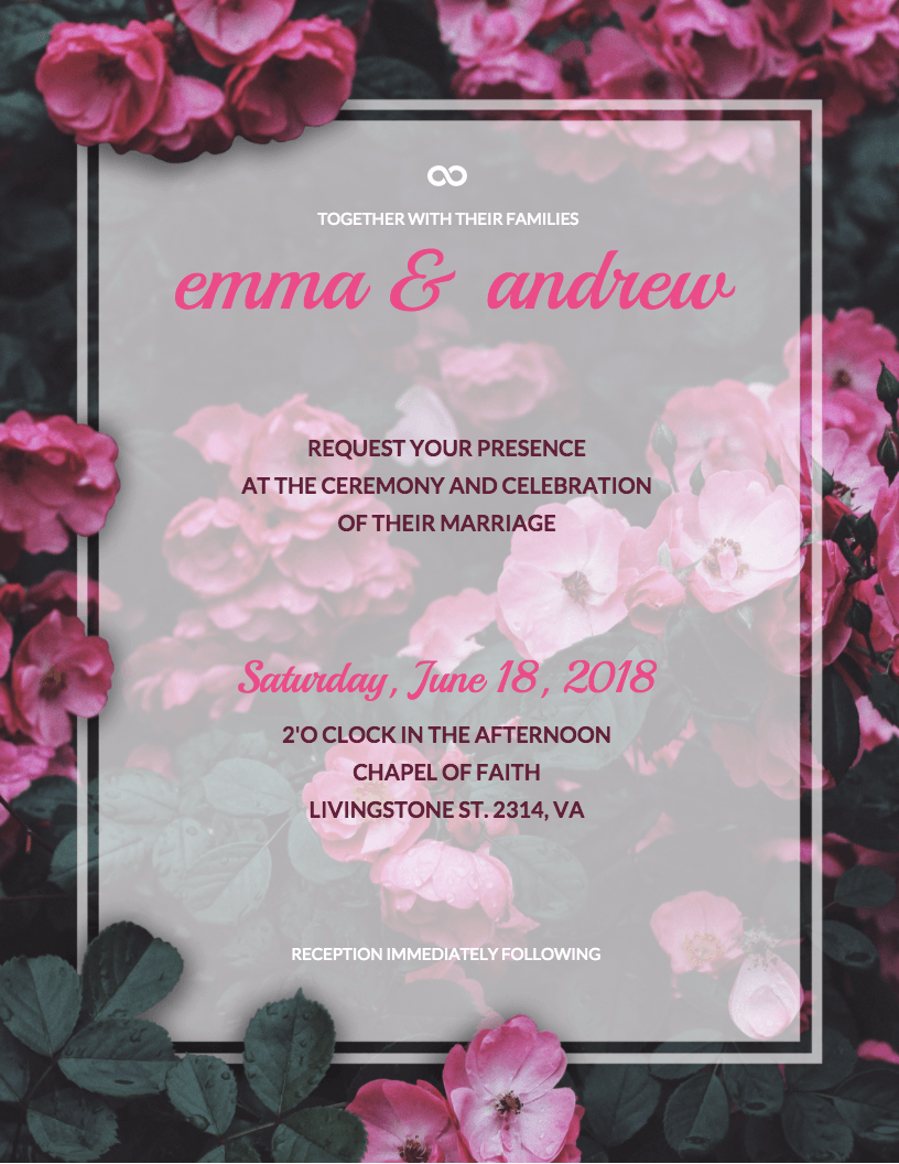 5 DIY Bridal Shower and Wedding Invitation Templates - Venngage