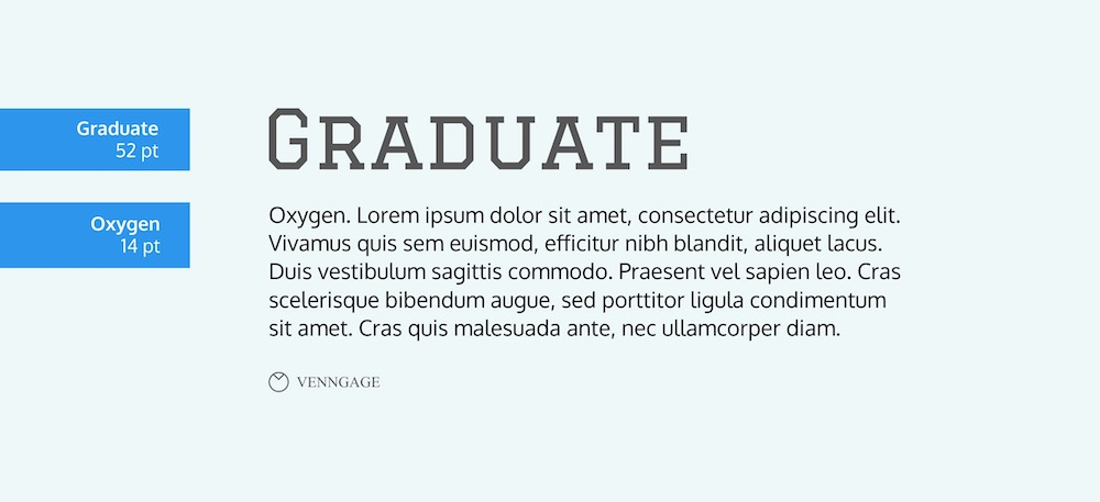Graduate Font Example - How To Pick Fonts