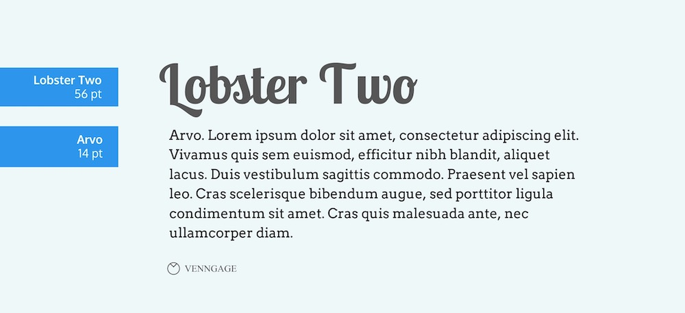 Lobster Two Font Example - How To Pick Fonts