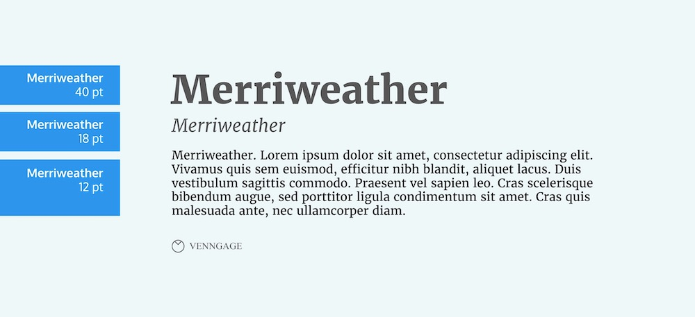Merriweather Font Example - How To Pick Fonts