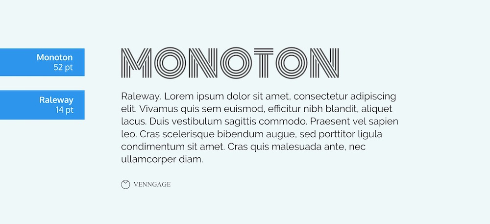 Monton Font Example - How To Pick Fonts