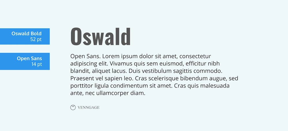 Oswald Font Example - How To Pick Fonts