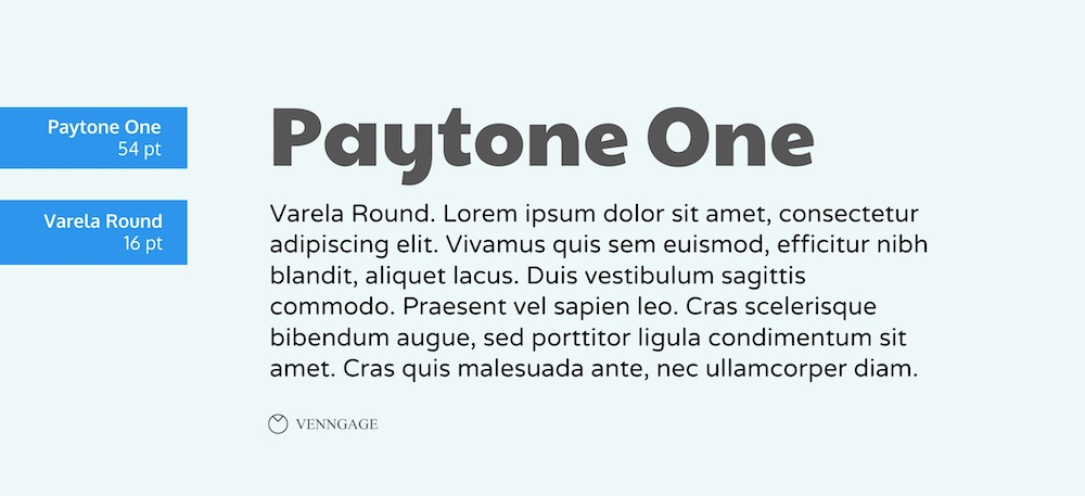 Paytone One Font Example - How To Pick Fonts