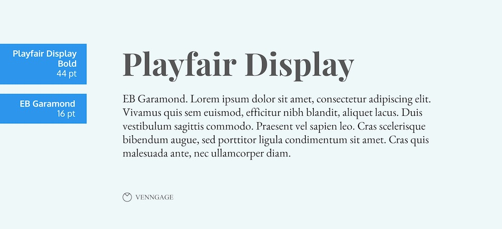 Playfair Display Font Example - How To Pick Fonts