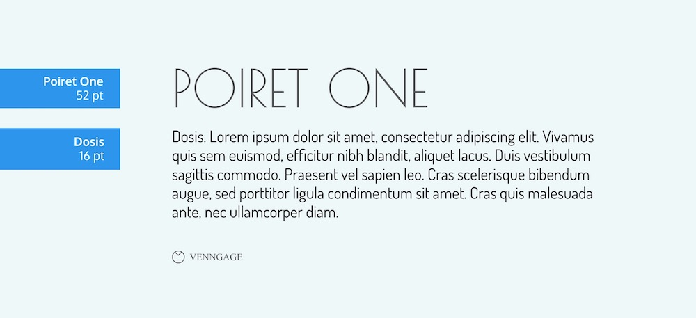 Poiret One Font Example - How To Pick Fonts