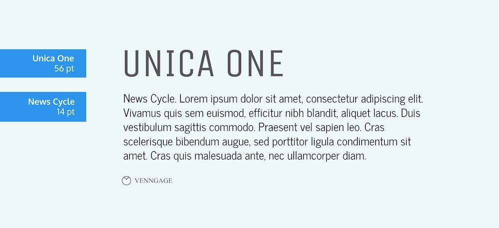 Unica One Font Example - How To Pick Fonts
