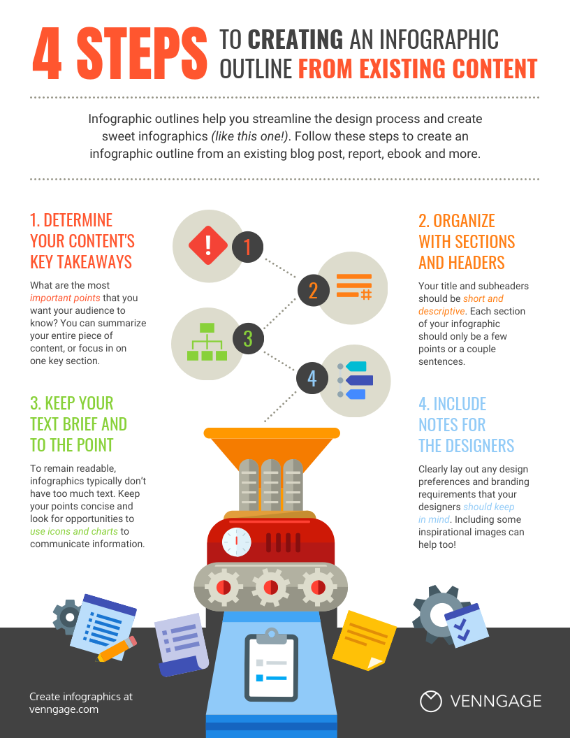 How to Create an Infographic Outline - Venngage