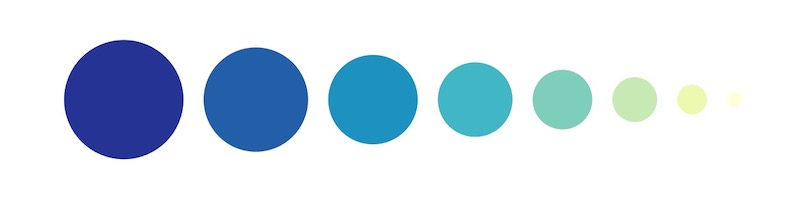 Blue Monochromatic Shades - How To Pick Colors