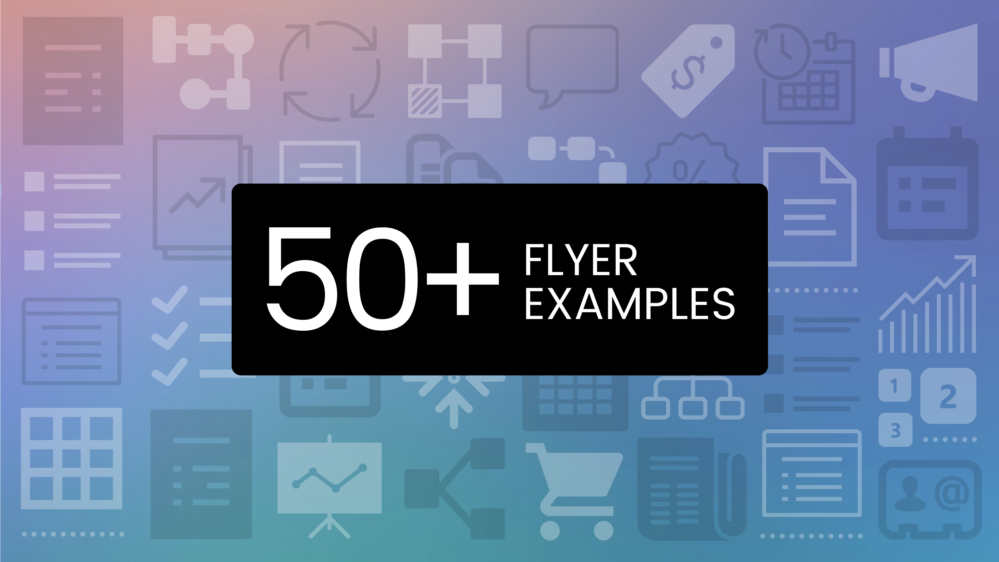 50 Captivating Flyer Examples Templates And Design Tips