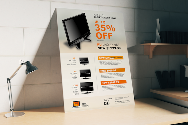 Product Flyer Examples