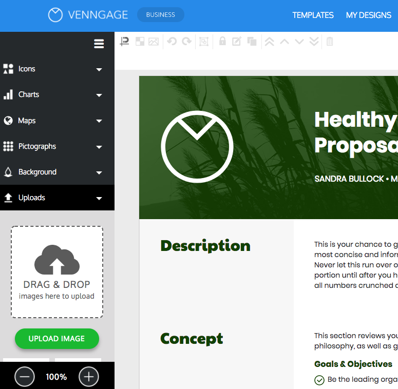Online Proposal Maker - Make Your Own Proposal - Venngage